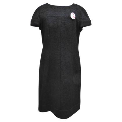 Chanel Wol bouclé jurk