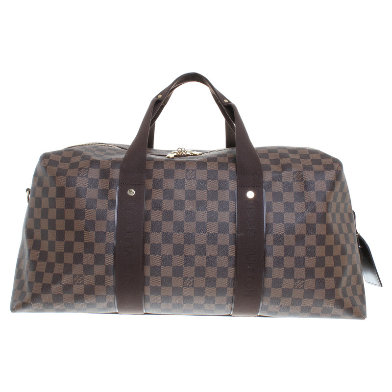 louis vuitton reisetasche aus damier ebene canvas second hand louis vuitton reisetasche aus. Black Bedroom Furniture Sets. Home Design Ideas