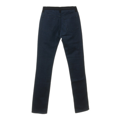 Lanvin Jeans with dark-contrast tie