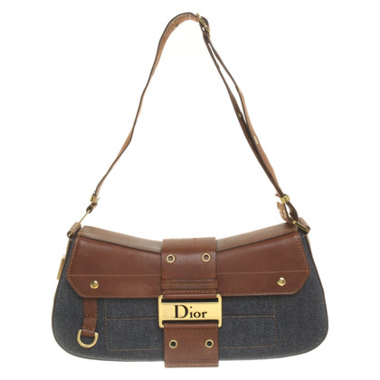 Christian Dior Handtasche in Bicolor
