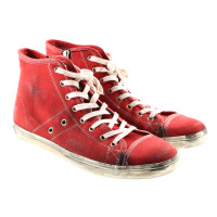 Leather Crown Red sneaker