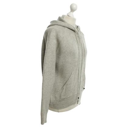 Hermès Strickjacke mit Kapuze