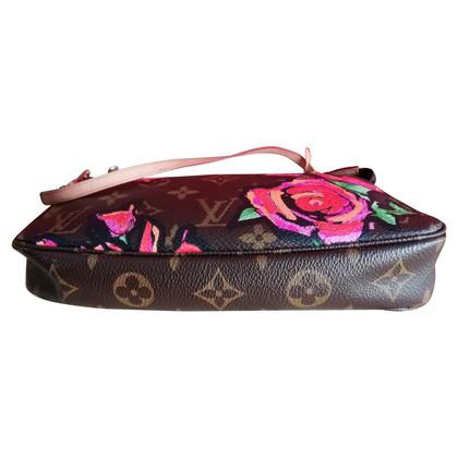 "Louis Vuitton ""Pochette Accessories Monogram Roses"""