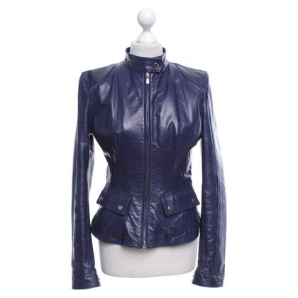 Belstaff Leather jacket in blue