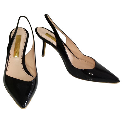 Rupert Sanderson Slingbacks Patent Leather