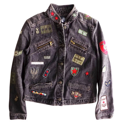 Armani Jeans Jeansjacke mit Patches