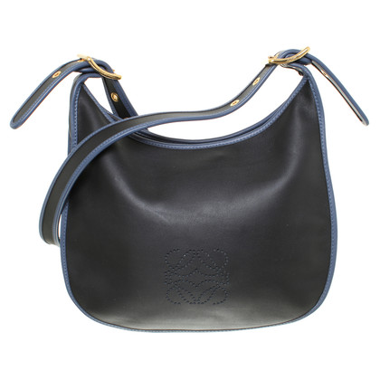 Loewe Leather handbag in night blue