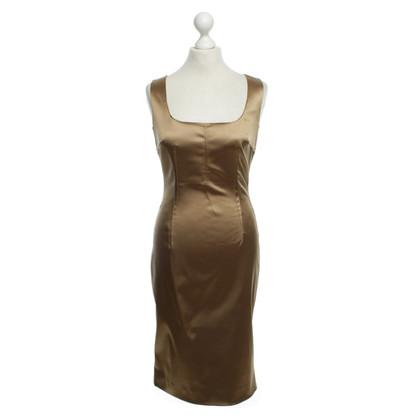 Dolce & Gabbana Goud-gekleurde jurk
