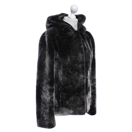 Armani Jeans Jacket of woven fur