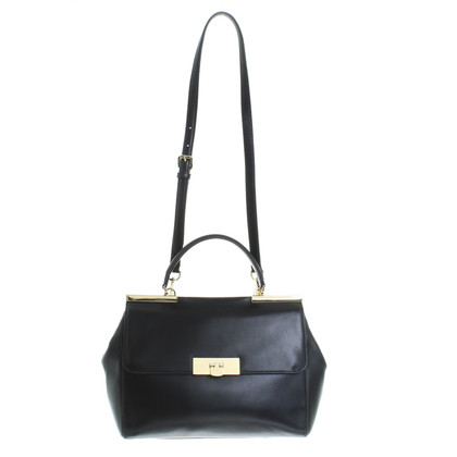 Michael Kors Leather handbag in black