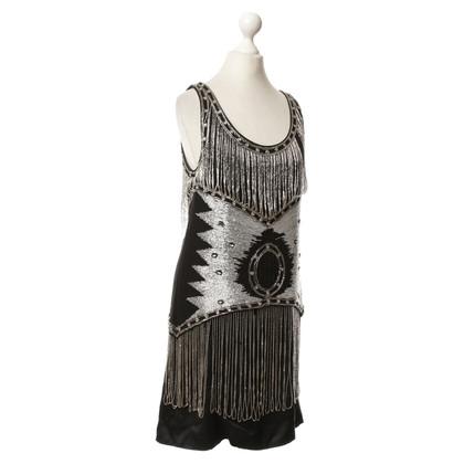Maje Kleid mit Schmucksteinen