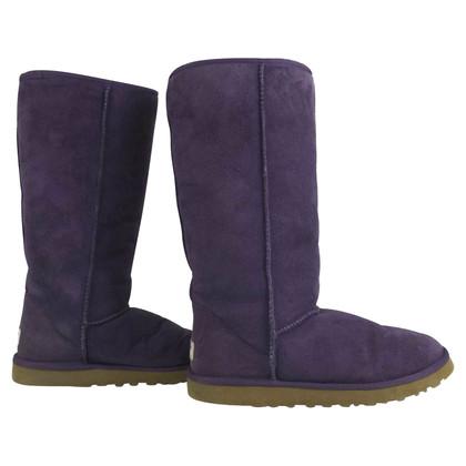 UGG Australia W Classic Tall Purple Boots 5815