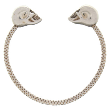 Alexander McQueen Bangle with skull application