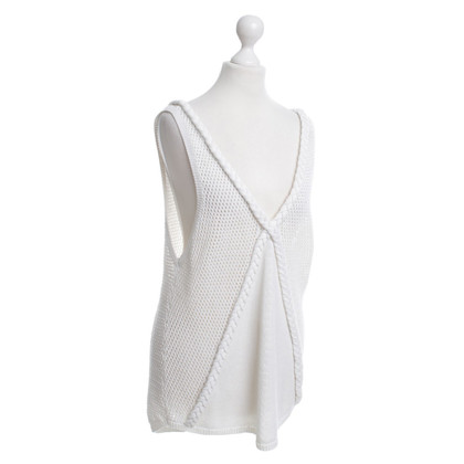 Armani Knitted top in white