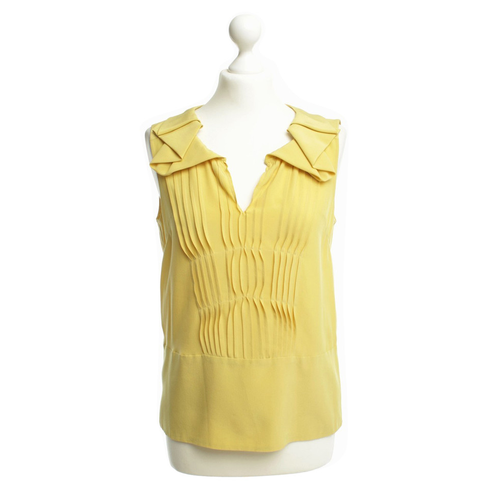 Marni Blouse in yellow