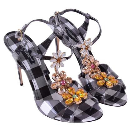 Dolce & Gabbana geruite Sandals