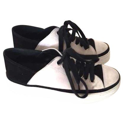 Ann Demeulemeester Sneakers in zwart / White