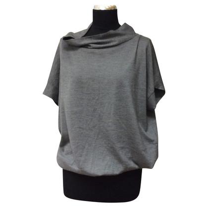Brunello Cucinelli Cashmere/silk knit shirt