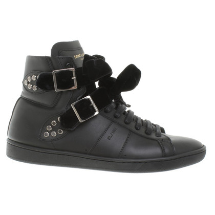 Saint Laurent Sneaker in Schwarz