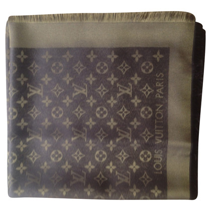 Louis Vuitton Monogram-Shine-Tuch in Braun