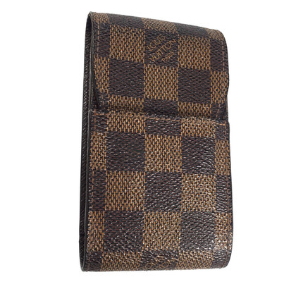 Louis Vuitton Zigarettenetui Damier Ebene Canvas