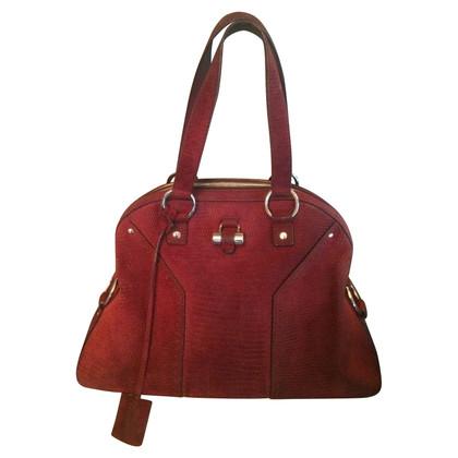 Yves Saint Laurent Muse Bag Bordeaux YSL bag