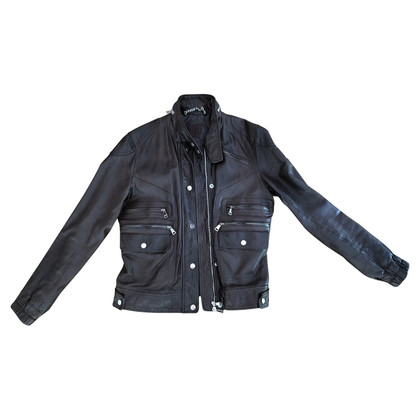 Mabrun Leather jacket, brown, IT 44