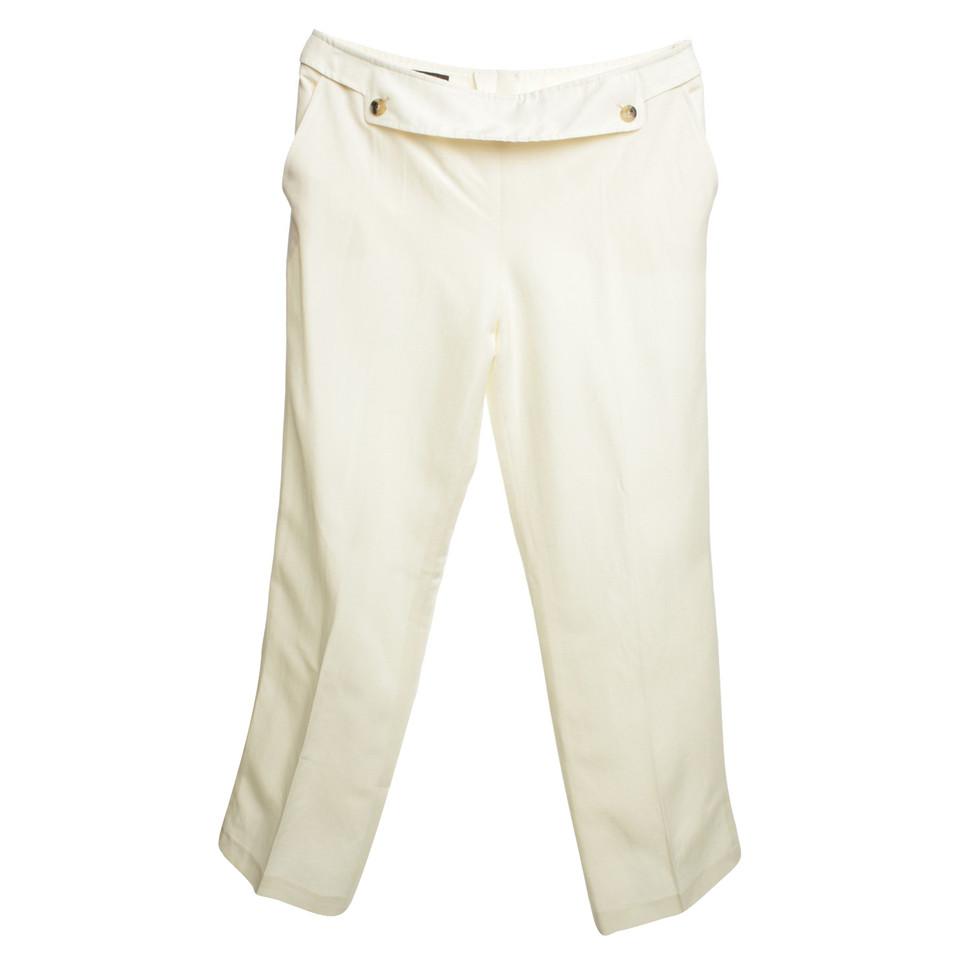 Escada Pantaloni in crema