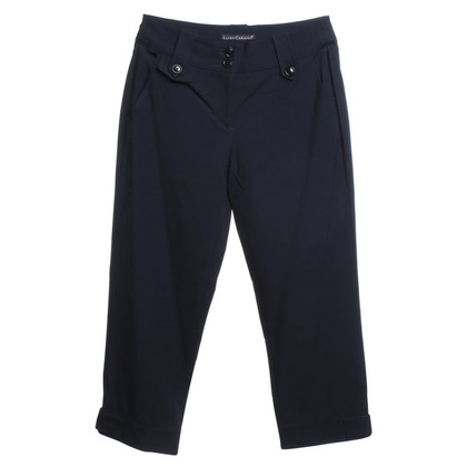 Luisa Cerano Donker blauwe broek 3/4 lengte