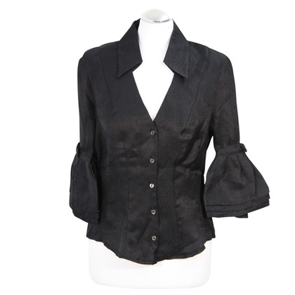 Karen Millen Silk blouse in black