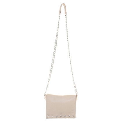 "Longchamp Schoudertas ""Paris Rocks"" in nude"