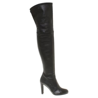 Stuart Weitzman Overknee boots in black