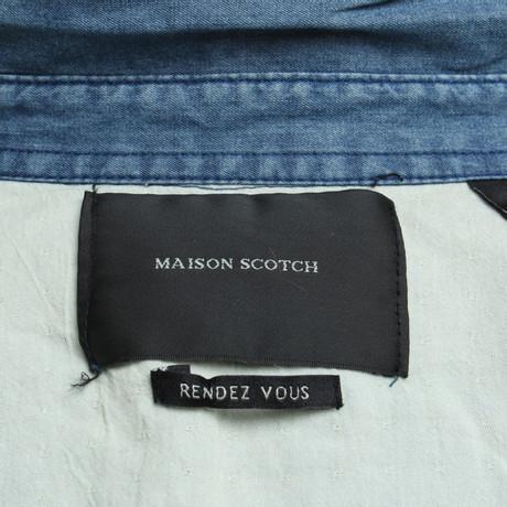 Maison Blau Scotch Maison Blau in Scotch Jeansbluse Jeansbluse Maison in Blau Scotch in Blau Jeansbluse 8qnz5z