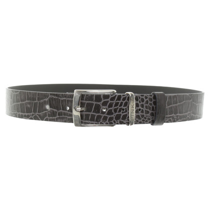 Pinko Belt with reptile embossing