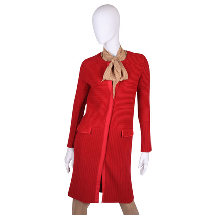 Salvatore Ferragamo Strickjacke in Rot