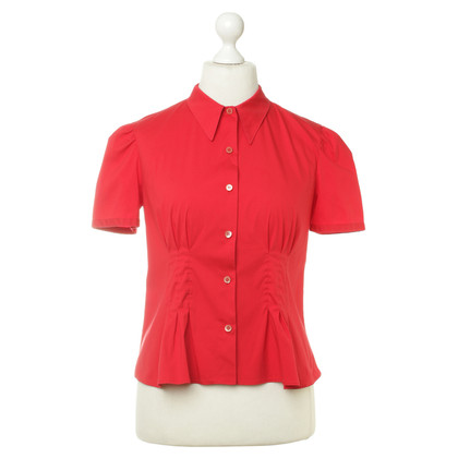 Prada Blouse in red