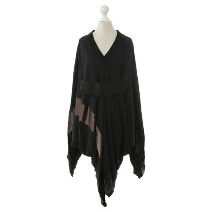 Lanvin Kimono Dress in Black