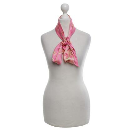 Cartier silk scarf in pink