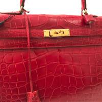 "Hermès ""Kelly Bag 35"" aus Alligatorenleder"