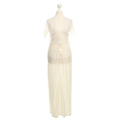 La Perla Cream white lace dress