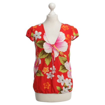 Strenesse Blouse with floral pattern
