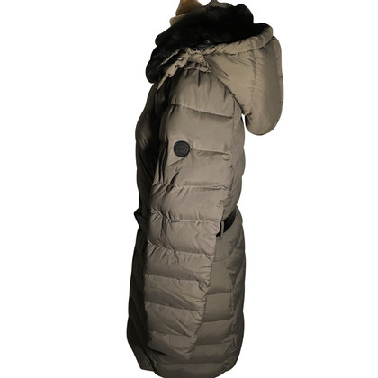 Closed Down parka with fur hood
