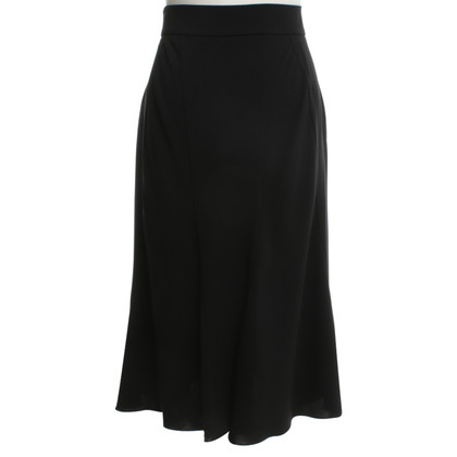 Prada skirt incornato in nero