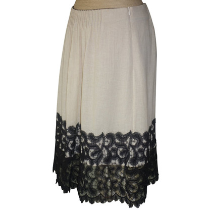 Dorothee Schumacher skirt with lace hem