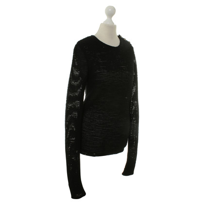 Balmain Top in nero