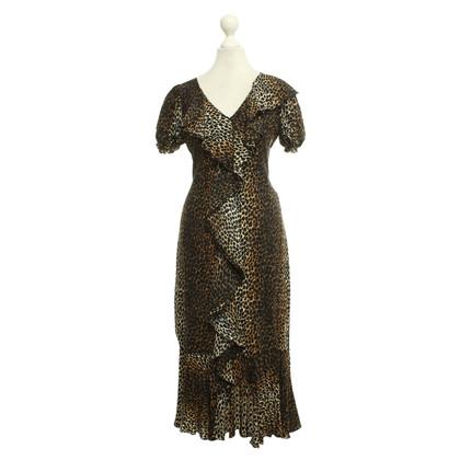 D&G Summer dress with leopard pattern