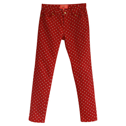 Manoush Jeans mit Polka Dots