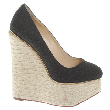 Charlotte Olympia Wedges in bicolour