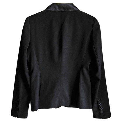 Tara Jarmon Black silk Blazer