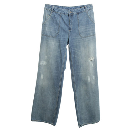 Set Jeans im Used-Look